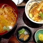 銀座 佐藤養助 - 天丼セット