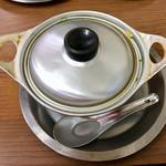 73960276 - 懐かしい鍋焼き鍋