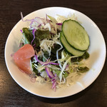ネパールキッチンサクラ - Aランチのサラダ(ドレッシング無を希望)