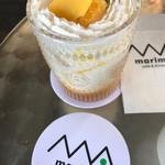 マリモ カフェ アンド ダイニング - 期間限定のマンゴーヨーグルト