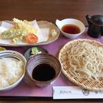 よ志竹 - 料理写真:天ぷらセット せいろ 1,190円