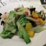 Rokoushurou - 二種海鮮炒め定食