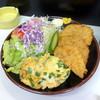 キッチン メグ - 料理写真:ミニセットご飯半分600円