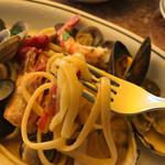 松島イタリアン トト - 麺アップ