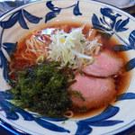 神田 磯野 - 醤油らーめん(780円)