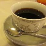 ル・ニ・ド・ファコン - コーヒー