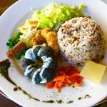 カフェテリア結・紀伊國屋 - 料理写真:棚田Aランチ  豆腐ハンバーグ!