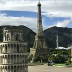 73968753 - ピサの斜塔&エッフェル塔&スカイツリーが一緒に写るw楽しい⁽⁽ ◟(∗ ˊωˋ ∗)◞ ⁾⁾
