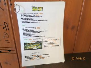 南インド家庭料理 カルナータカー - メニュー