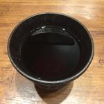 東京から揚げバル - ホットウーロン茶