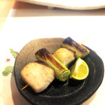 濱正 - かんぱち、ネギ焼き