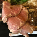 仮麺中 ぬちぐすい - レアチャーシュー