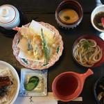 和食 麦 - 料理写真:うなぎとろろ丼ランチ