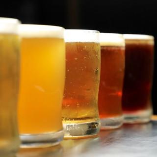 種類豊富♪スムージーからクラフトビールまで!