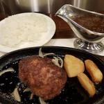 イノウエステーキハンバーグレストラン - 【2017/9】ハンバーグランチ