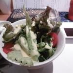 串カツ&ワインバル ゑしぇ蔵 - 野菜サラダ