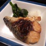 7398790 - 松花堂弁当:焼き鯖