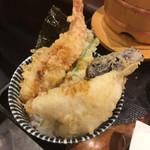 73983876 - 天ぷら定食の後は、天丼に。