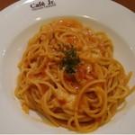 イタリアン・トマト カフェジュニア - 料理写真:ドイツステッペンチーズのトマトクリーム