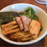 麺屋たつみ 喜心 - 丸鶏醤油ラーメン