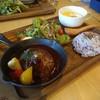 カフェ アンド バー クヌート - 料理写真:ハンバーグプレート 1,150円(込)