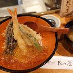 串天ぷら 段々屋 - 元祖冷やし天丼 950円