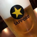 あきよし - サッポロ生ビール