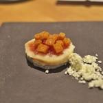 Point - イチジクにサントモールというチーズ。