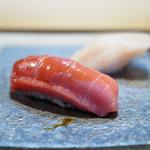鮨 猪股 - 中トロヅケ