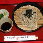 弁天茶屋 - ざる蕎麦