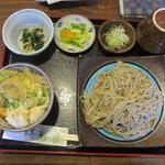 純手打蕎麦処 錦庵 - 料理写真:いろいろ選べるソバセット(ミニカツ丼)