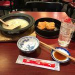 小倉鉄なべ - テーブル