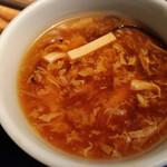 膳處漢ぽっちり - 酸辣湯