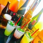 鍋ぞう - ドリンク写真:日本酒やモヒートもご用意♪