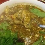 中華料理 八戒 - アンコウの身と肝がたっぷり