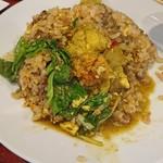 中華料理 八戒 - アンコウスープカレーをかけたら旨すぎる!