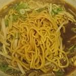 中華料理 八戒 - 縮れ麺