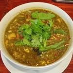 中華料理 八戒 - アンコウのスープカレー