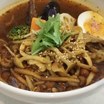 スープカレーの田中さん - 料理写真:10月のマンスリーたっぷりキノコスープカレー1000円