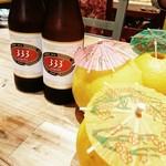 ベトナム屋台酒場 デンロン - ベトナムビール   333  ( バーバーバー)