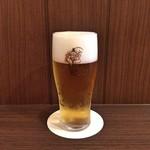 三福亭 - ランチ生ビール
