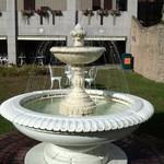 北菓楼 - 庭園にある噴水