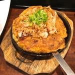 73999135 - 牡蠣のお好み焼き岡山スタイル1280円