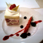 サロン・ド・テ・ペルティエ - イチゴのケーキ