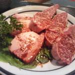 牛楽 - 上カルビの厚切り byキキリリ