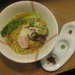 麺家 - あっさり山トロらーめん 600円