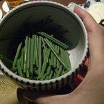 和牛料理 要 - ☆こちらの葱を巻いて食すスタイル☆