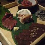 和牛料理 要 - ☆まずは本日のおすすめお刺身盛り合わせ5種☆
