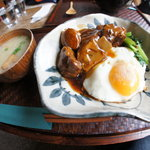 パーク サイド カフェ リアン - トンポーロー丼