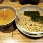 麺屋 百式 - (冷)渡り蟹のつけ麺(800円)